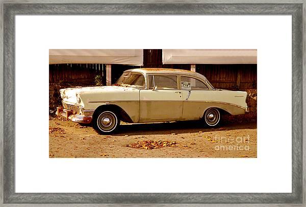Classic Vintage Car Framed Print