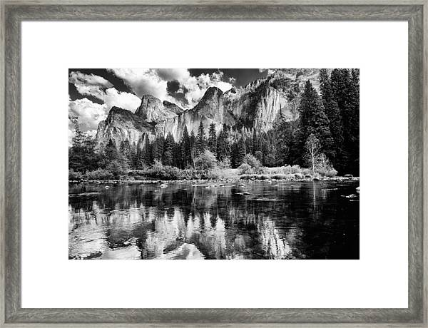 Classic Yosemite Framed Print