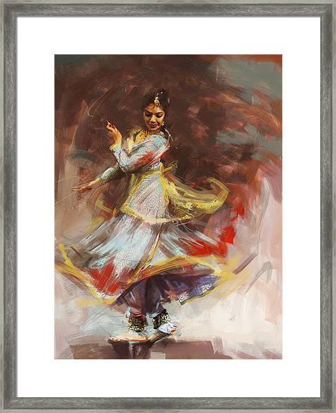 Classical Dance Art 8 Framed Print