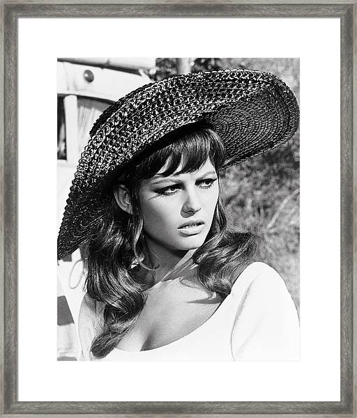 Claudia Cardinale In Don't Make Waves  Framed Print by Silver Screen