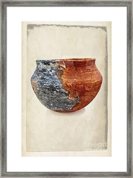 Clay Pottery  - Fine Art Photography Framed Print