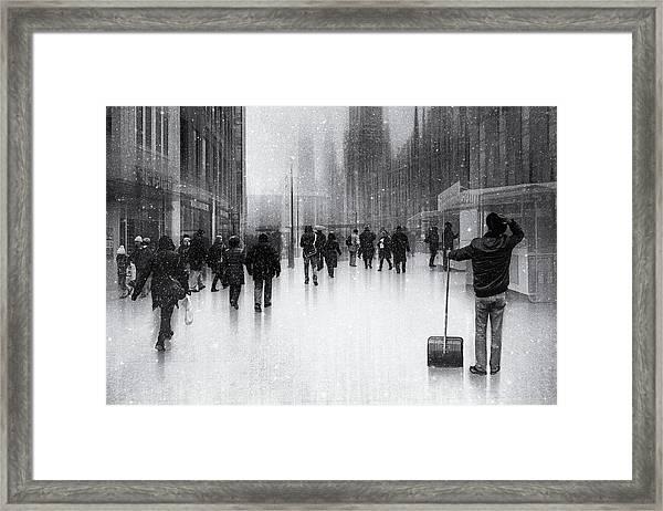 Clean City 2 Framed Print