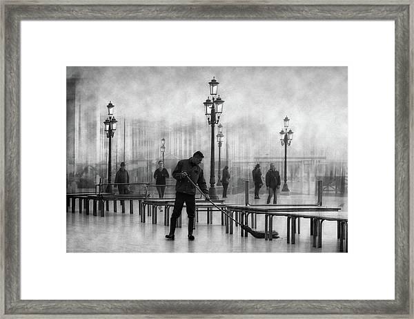 Clean City 4 Framed Print