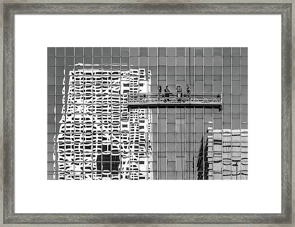 Cleaning Framed Print