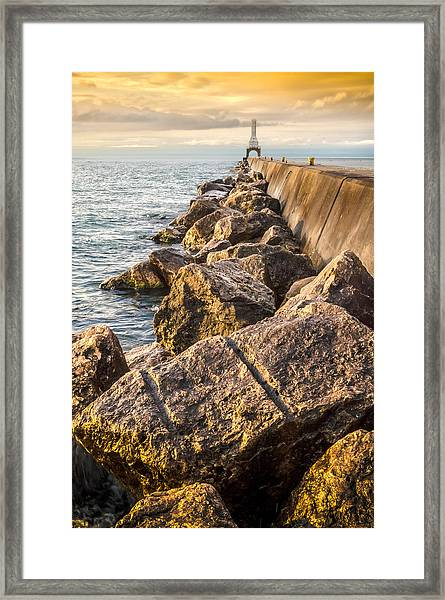 Clear Journey Framed Print