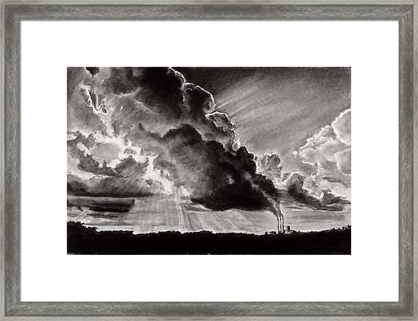 Clear Skies Framed Print