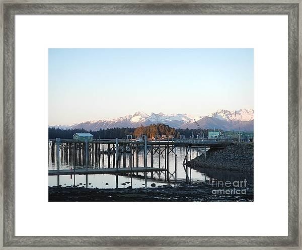Clear Winter's Day Framed Print