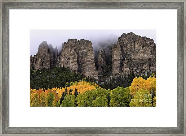 Clearing Storm Over The Cimarrons Framed Print
