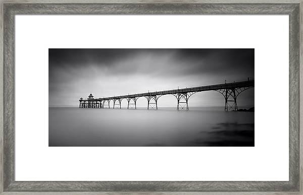 Clevedon Pier Framed Print