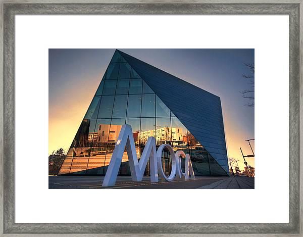 Cleveland Museum Of Modern Art Framed Print