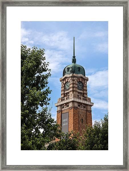 Cleveland West Side Market Tower Framed Print
