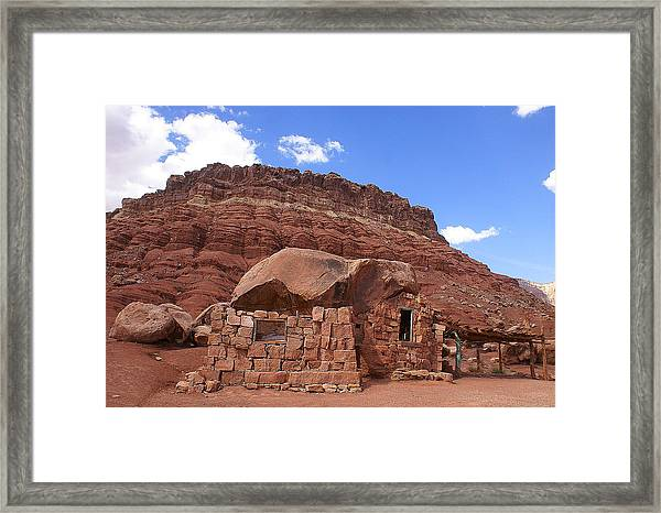 Cliff Dwellers Framed Print