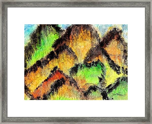 Climb Every Mountain Framed Print