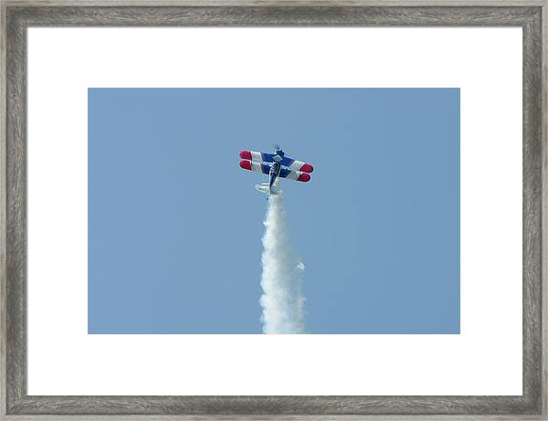 Climbing To The Sky Framed Print
