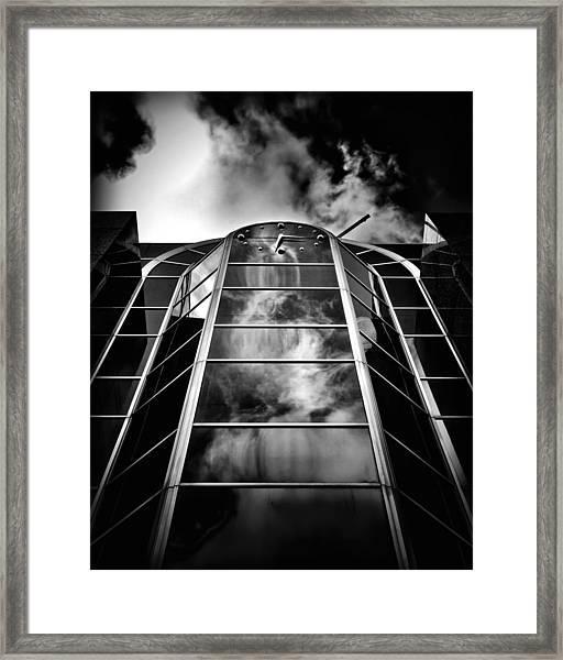 Clock Tower No 1920 Yonge St Toronto Canada Framed Print