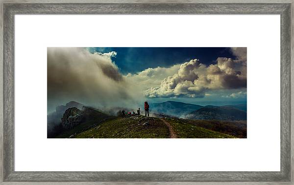 Cloud Factory Framed Print