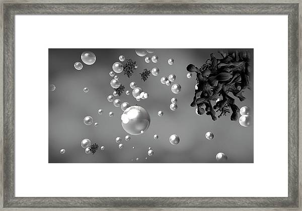 Cloud Formation Framed Print by Nasa/science Photo Library
