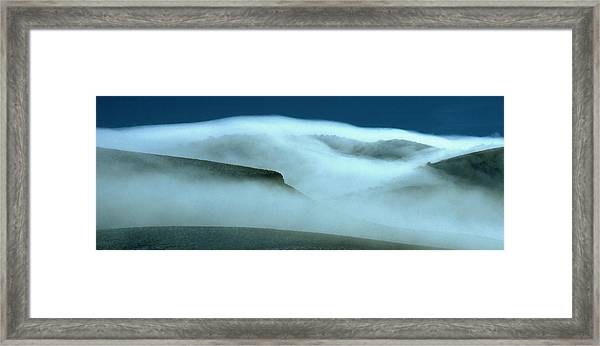 Cloud Mountain Framed Print