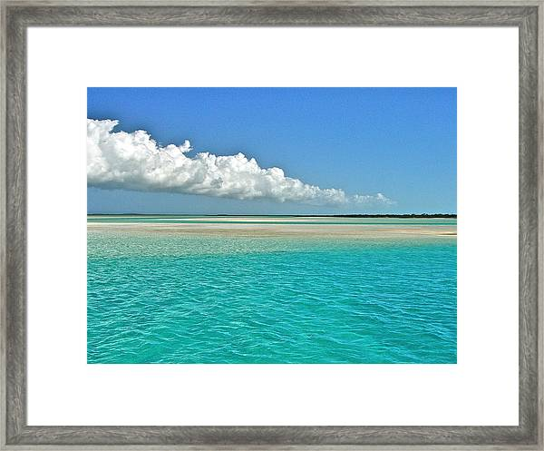 Cloud Over Joe's Framed Print