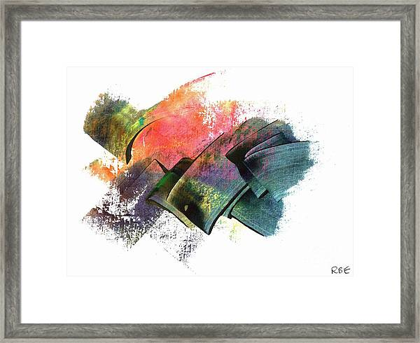 Clouded Judgement Framed Print