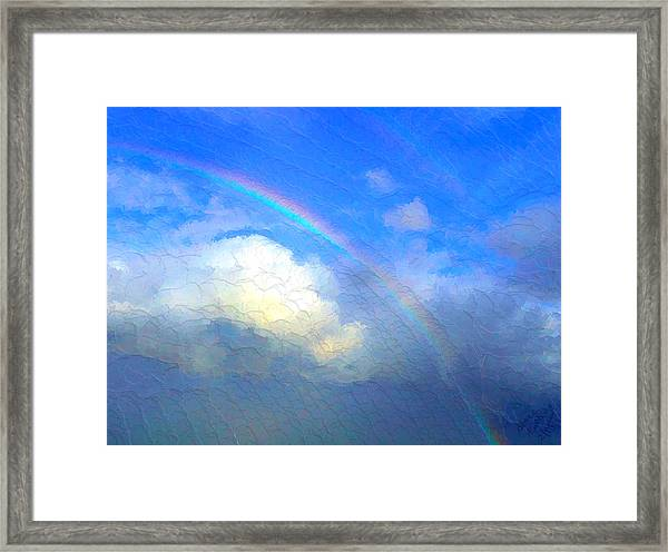 Clouds In Ireland Framed Print