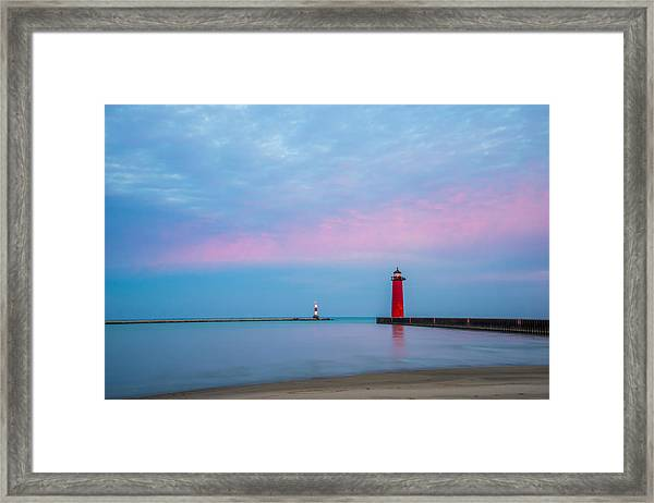 Clouds Of Cotton Candy Framed Print