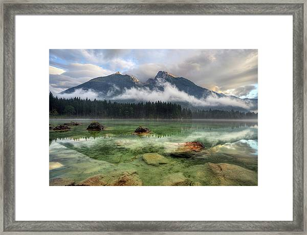 Cloudy Day Framed Print by