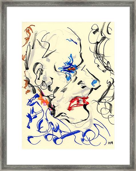 Clown Thug IIi Framed Print