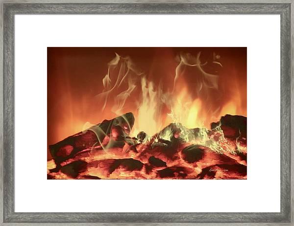 C'mon Baby Light My Fire Framed Print