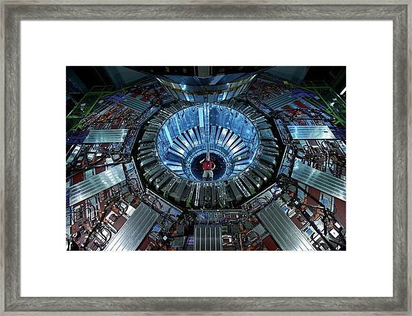 Cms Detector Framed Print by Fons Rademakers/cern