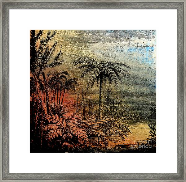 Coal Ages Framed Print by R Kyllo