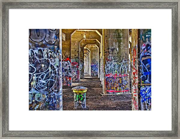 Coal Piers Framed Print
