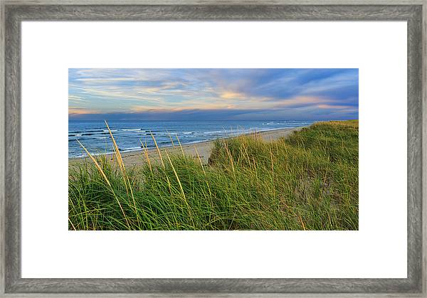 Coast Guard Beach Cape Cod Framed Print