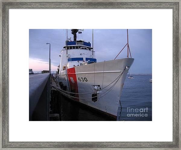 Coast Guard Cutter Alert Framed Print