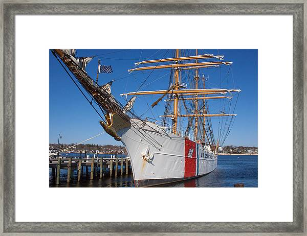 Coast Guard Cutter Eagle Framed Print