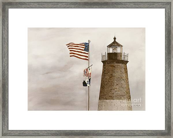 Coast Guard Framed Print