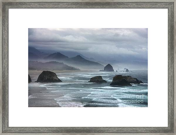 Framed Print featuring the photograph Coast Of Dreams 4 by Mel Steinhauer