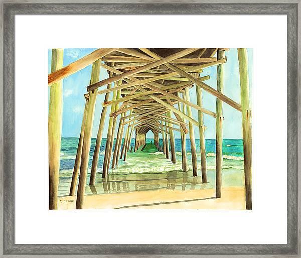 Coastal Cathedral  Framed Print