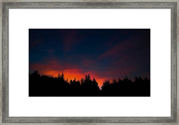 Coastal Mountain Sunrise Vii Framed Print