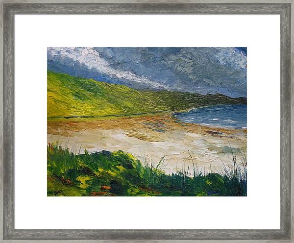 Coastal Road To Barleycove Framed Print