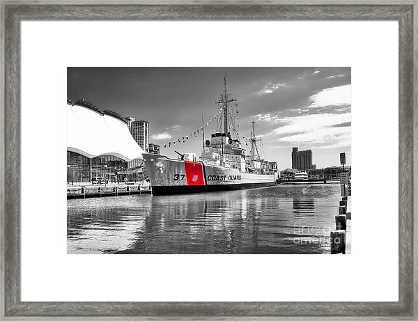 Coastguard Cutter Framed Print