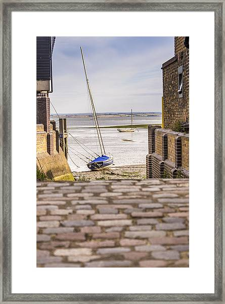 Cobble Coble Framed Print by Carolyn Lewis