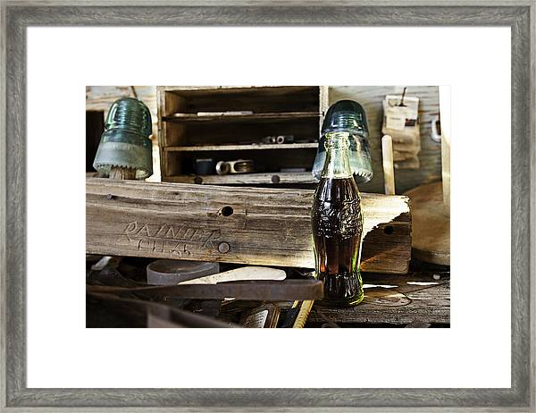 Coca-cola In The Light Of Day 4 Framed Print