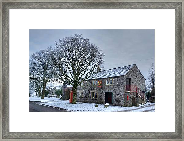 Cock And Pullet Pub Framed Print