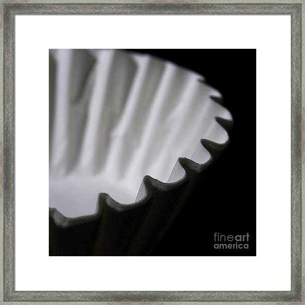 Coffee Filters Framed Print