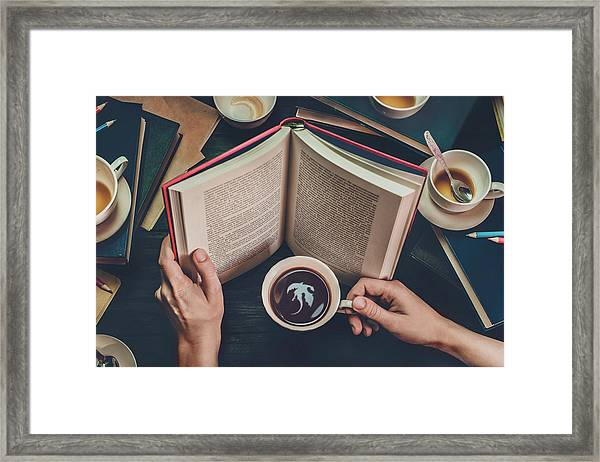 Coffee For Dreamers Framed Print by Dina Belenko
