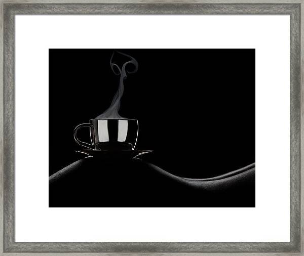 Coffee In Bed Framed Print by Dmitriy Batenko