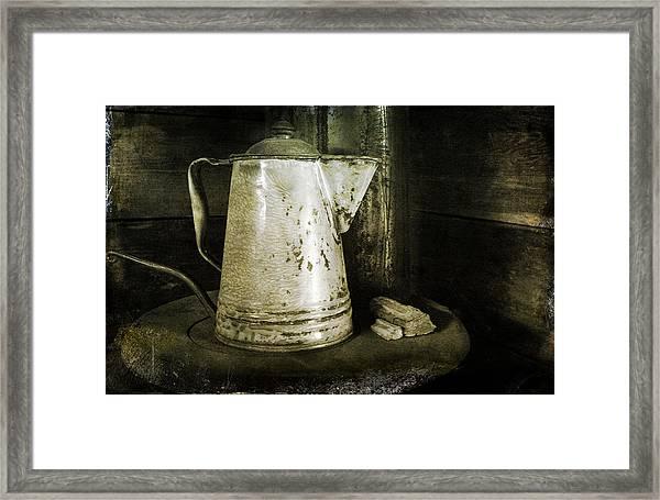 Little Coffee House On The Prairie Framed Print