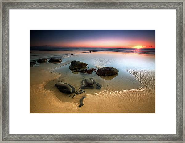 Coffee Rocks Framed Print