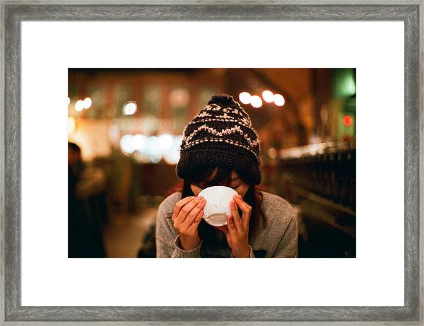 Coffee Time Framed Print by Photography By Bert.design